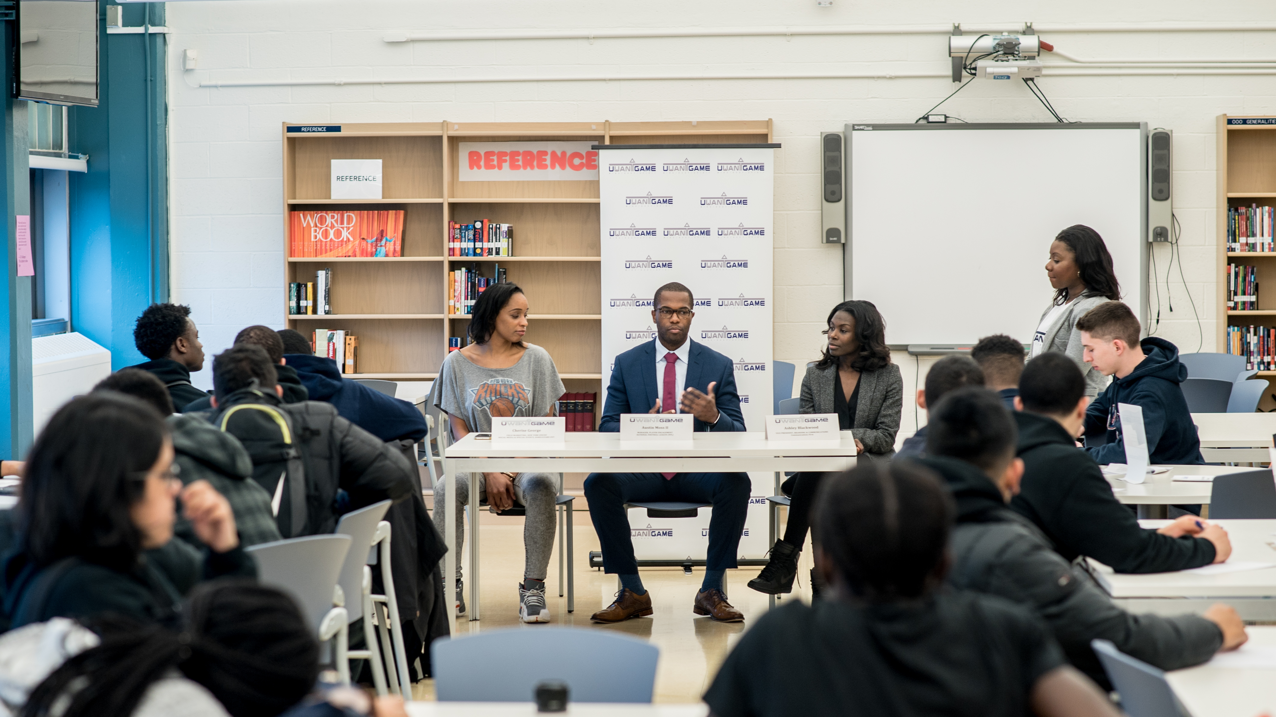 PHOTOS: UWANTGAME African Americans in Sports Panel Discussion (February)